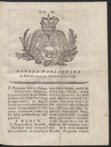 Gazeta Warszawska. R.1775 Nr 12