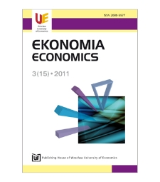 Contents [Ekonomia = Economics, 2011, Nr 3 (15)]