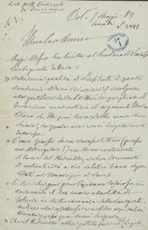 [Listy ze zbioru Teofila Lenartowicza z lat 1889-1892 dotyczące serca Tadeusza Kościuszki]