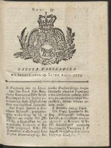 Gazeta Warszawska. R.1775 Nr 57