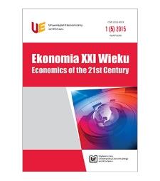 Spis treści [Ekonomia XXI Wieku = Economics of the 21st Century, 2015, Nr 1 (5)]