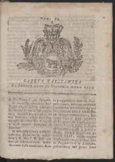 Gazeta Warszawska. R.1775 Nr 69