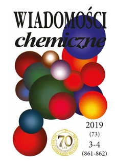Wiadomości Chemiczne, Vol. 73, 2019, nr 3-4 (861-862)