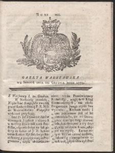 Gazeta Warszawska. R.1775 Nr 101