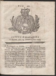 Gazeta Warszawska. R.1775 Nr 102