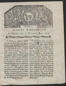 Gazeta Warszawska. R.1778 Nr 2