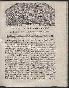 Gazeta Warszawska. R.1778 Nr 16