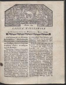 Gazeta Warszawska. R.1778 Nr 29