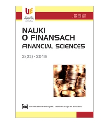Spis treści [Nauki o Finansach = Financial Sciences, 2015, Nr 2 (23)]