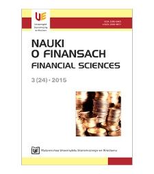 Spis treści [Nauki o Finansach = Financial Sciences, 2015, Nr 3 (24)]