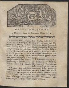 Gazeta Warszawska. R.1778 Nr 61