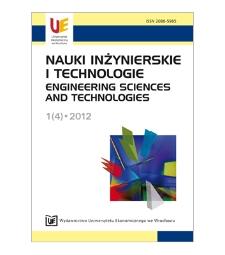 Spis treści [Nauki Inżynierskie i Technologie = Engineering Sciences and Technologies, 2012, Nr 1 (4)]