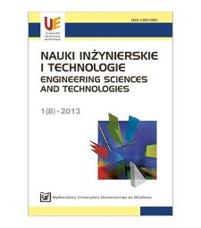Spis treści [Nauki Inżynierskie i Technologie = Engineering Sciences and Technologies, 2013, Nr 1 (8)]