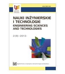 Spis treści [Nauki Inżynierskie i Technologie = Engineering Sciences and Technologies, 2013, Nr 2 (9)]