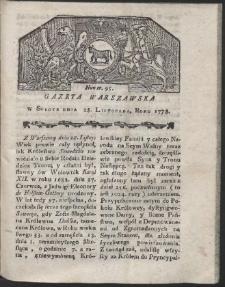 Gazeta Warszawska. R.1778 Nr 95
