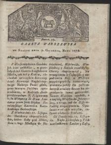 Gazeta Warszawska. R.1778 Nr 98