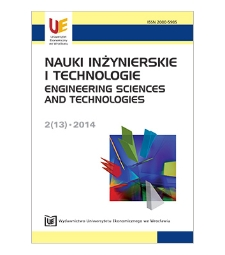 Spis treści [Nauki Inżynierskie i Technologie = Engineering Sciences and Technologies, 2014, Nr 2 (13)]