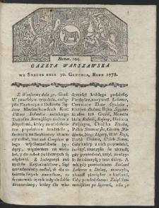 Gazeta Warszawska. R.1778 Nr 104