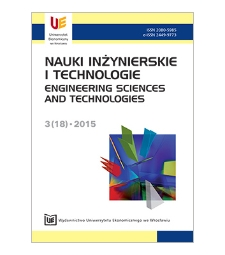 Spis treści [Nauki Inżynierskie i Technologie = Engineering Sciences and Technologies, 2015, Nr 3 (18)]