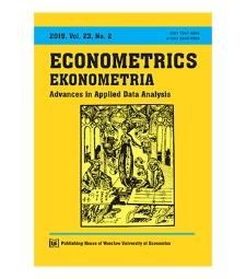 Spis treści [Econometrics = Ekonometria, 2019, Vol. 23, No. 2]