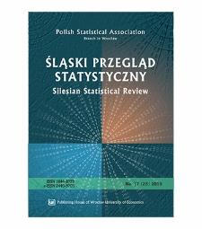 Contents [Śląski Przegląd Statystyczny = Silesian Statistical Review, 2019, Nr 17 (23)]