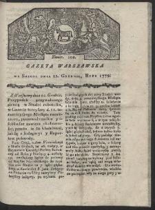 Gazeta Warszawska. R. 1779 Nr 102