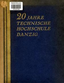 20 Jahre Technische Hochschule Danzig : 1904-1924