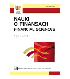 Offshore financial centres in decisions of private EU investors. Perspectives of further development