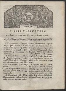 Gazeta Warszawska. R. 1780 Nr 50