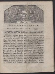 Gazeta Warszawska. R. 1780 Nr 56