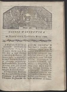 Gazeta Warszawska. R. 1780 Nr 90
