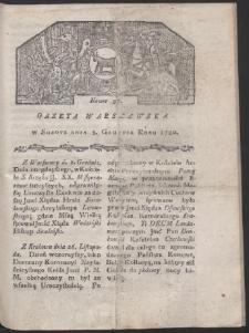 Gazeta Warszawska. R. 1780 Nr 97
