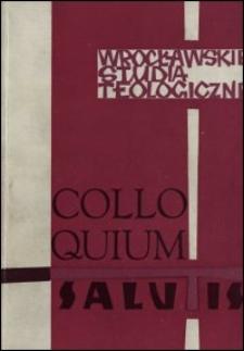 Colloquium Salutis : wrocławskie studia teologiczne. 8 (1976)