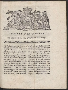 Gazeta Warszawska. R.1781 Nr 75