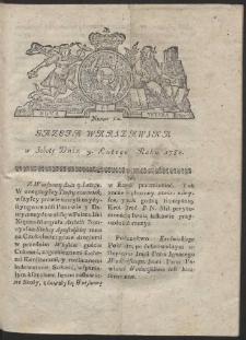 Gazeta Warszawska. R.1782 Nr 12
