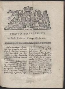 Gazeta Warszawska. R.1782 Nr 17