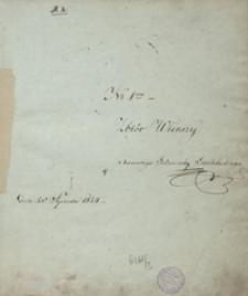 Zbiór wierszy Xawerego Godziemby Godebskiego […] 1824