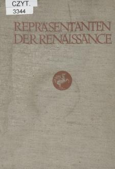 Repräsentanten der Renaissance