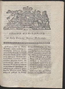 Gazeta Warszawska. R.1782 Nr 21