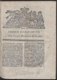 Gazeta Warszawska. R.1782 Nr 28