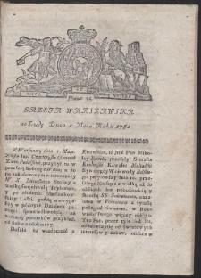 Gazeta Warszawska. R.1782 Nr 35
