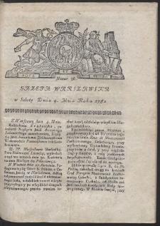 Gazeta Warszawska. R.1782 Nr 36