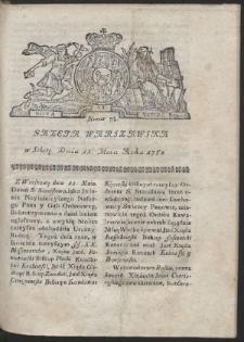 Gazeta Warszawska. R.1782 Nr 38