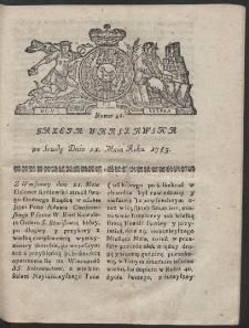 Gazeta Warszawska. R.1782 Nr 41