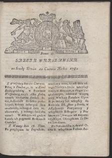 Gazeta Warszawska. R.1782 Nr 48