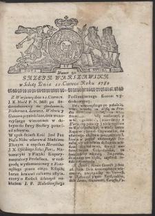 Gazeta Warszawska. R.1782 Nr 50