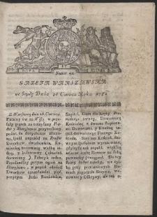 Gazeta Warszawska. R.1782 Nr 51