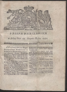 Gazeta Warszawska. R.1782 Nr 68