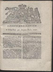 Gazeta Warszawska. R.1782 Nr 70