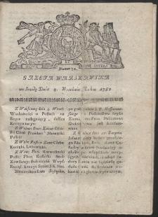 Gazeta Warszawska. R.1782 Nr 71